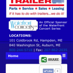 Maine trailer mobile